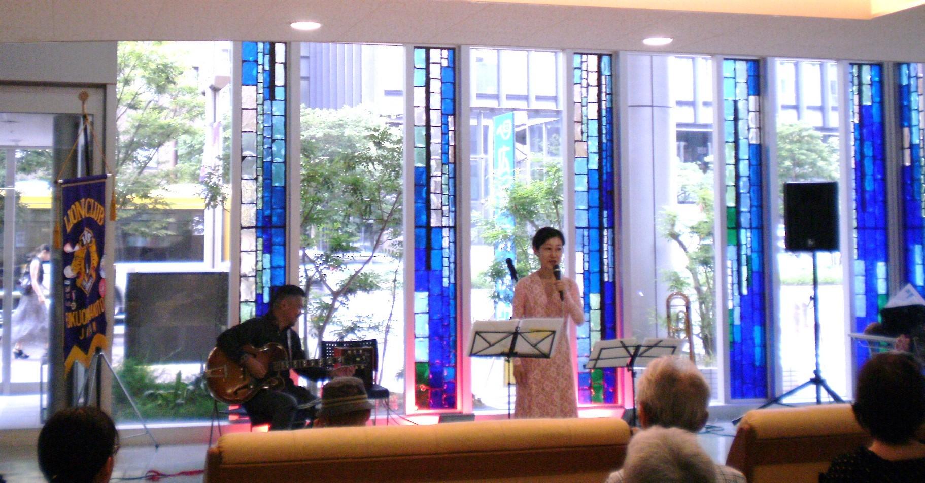 第10回 広瀬病院訪問プログラム「院内コンサ-ト」